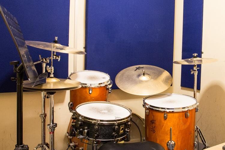 Drum Practice Room