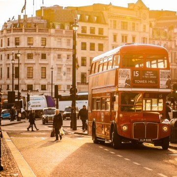 ICMP Institute Music School Open Day 22nd April London Bus Image